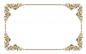 single decorative frame