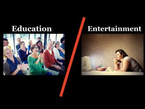 education-to-entertainment